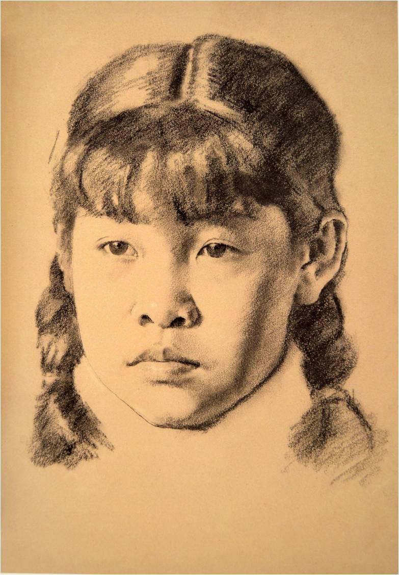 武汉小吃手绘素描
